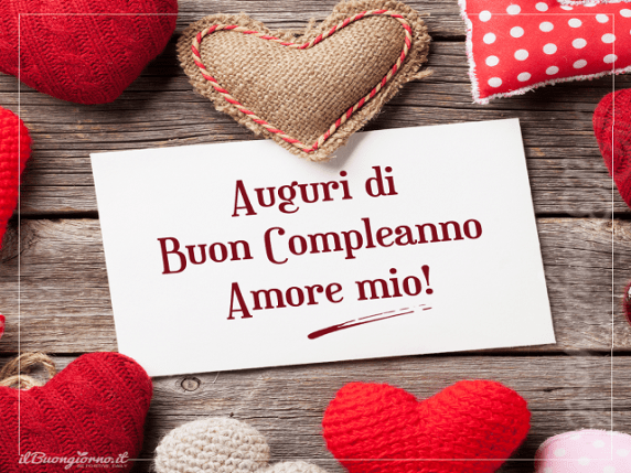 frasi compleanno amore