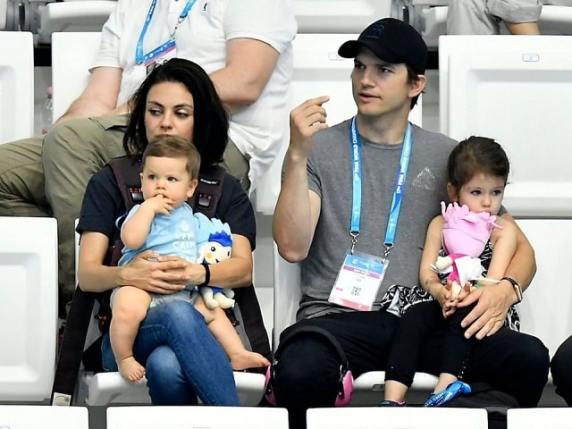 Ashton Kutcher papà