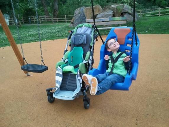 bambino con disabilità