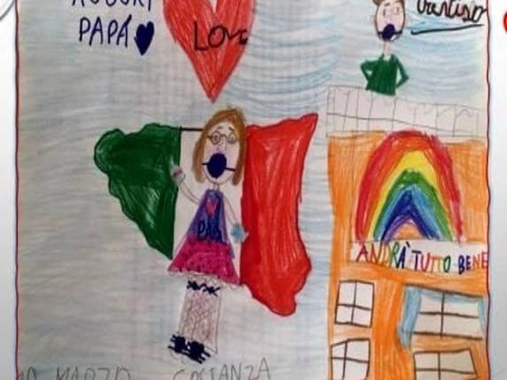 lettera bambina papà