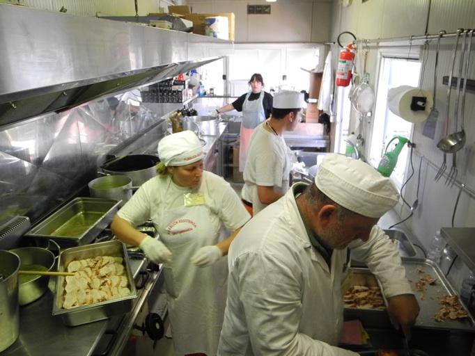 cucina campo Anpas - Mirandola