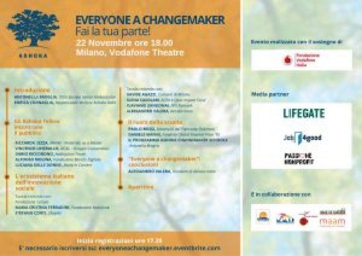 Everyone a changemaker