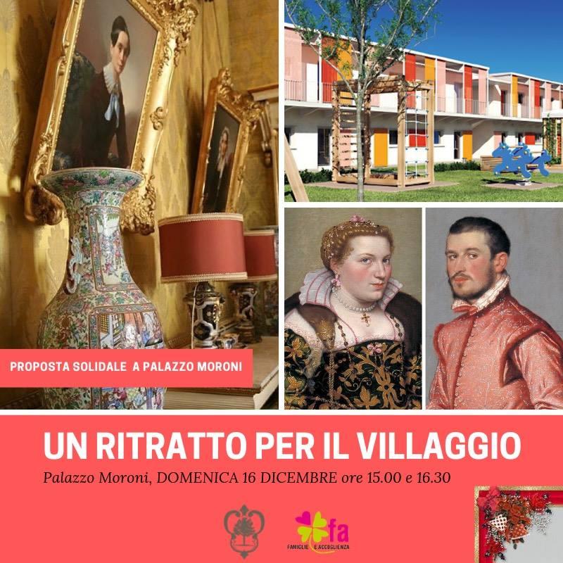 Palazzo Moroni sostiene il Villaggio Solidale di Lurano (BG)