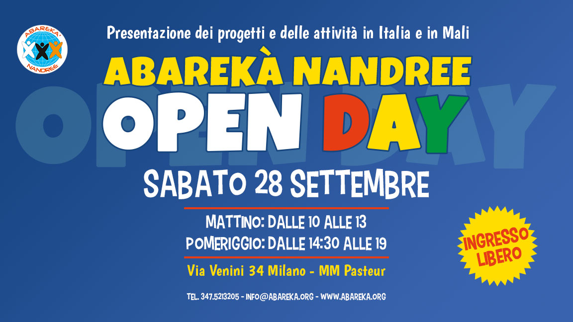 Abarekaà Nandree Open Day