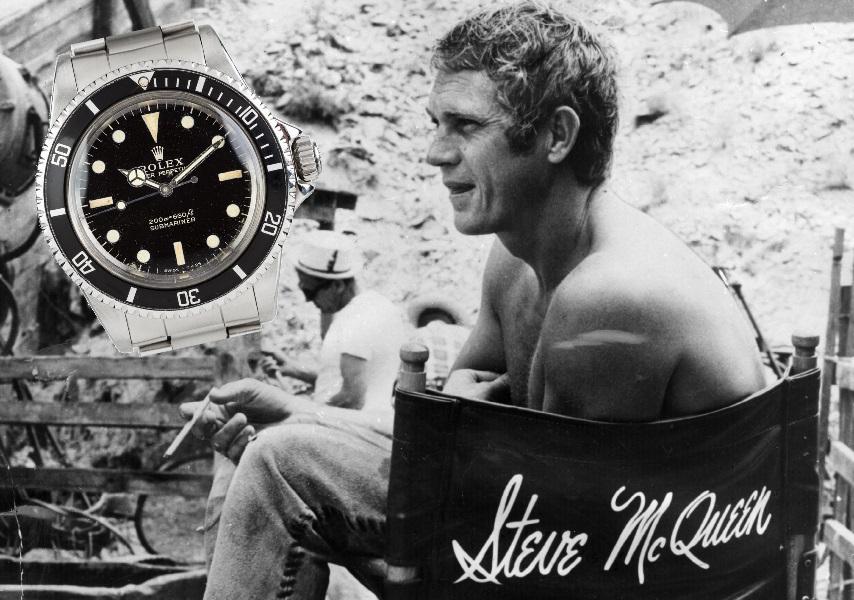 Rolex 5513: storia e curiosità dell'orologio di Steve McQueen (che andrà all'asta)