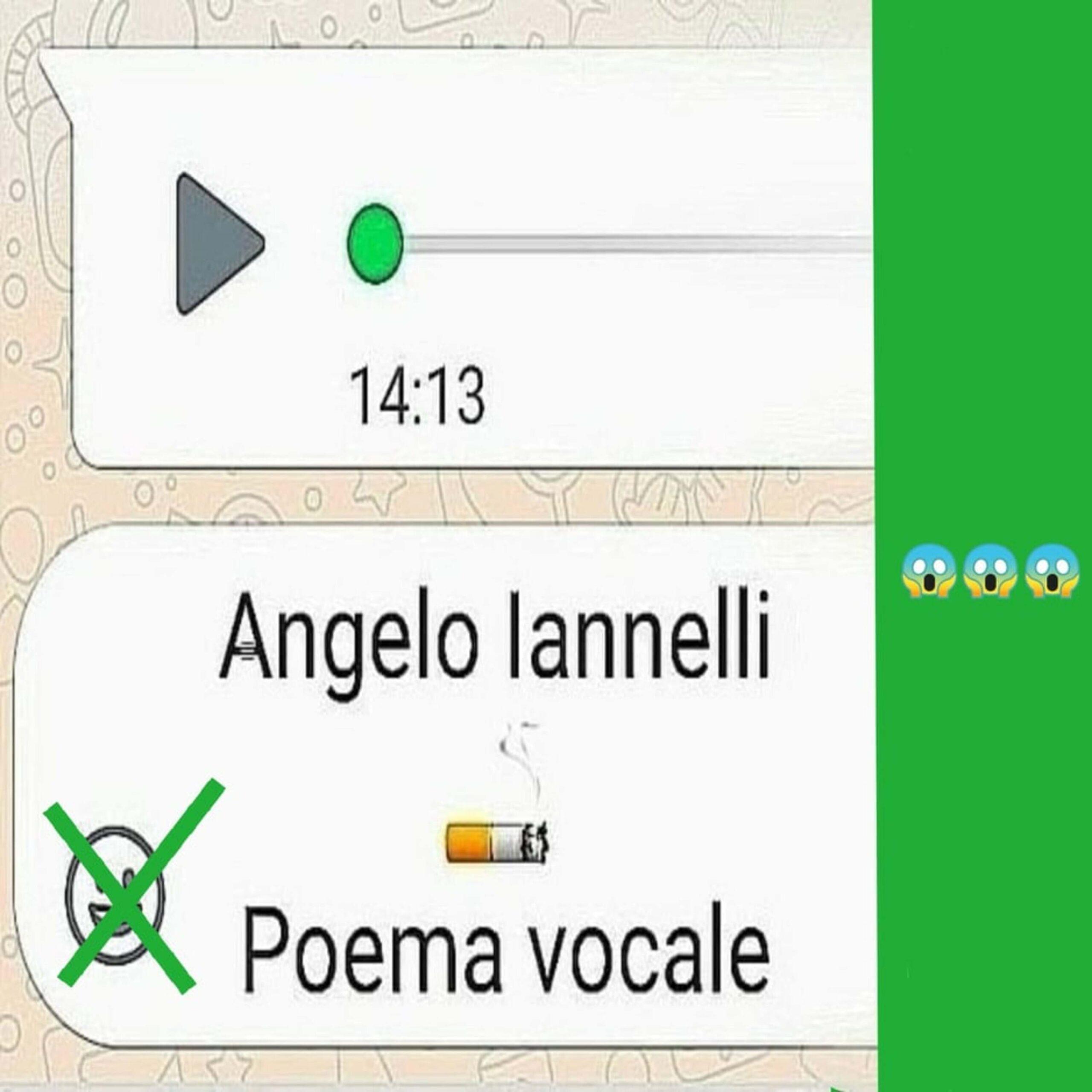 Angelo Iannelli da vicino: Di cosa parla Poema Vocale?