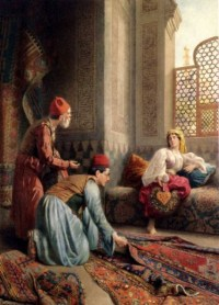 The Carpet Sellers by Francesco Ballesio
