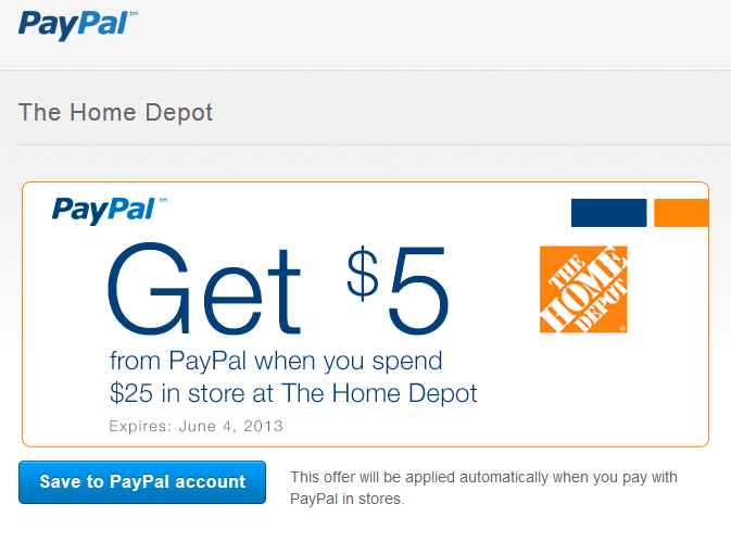 Home Depot Coupon For 525 Purchase