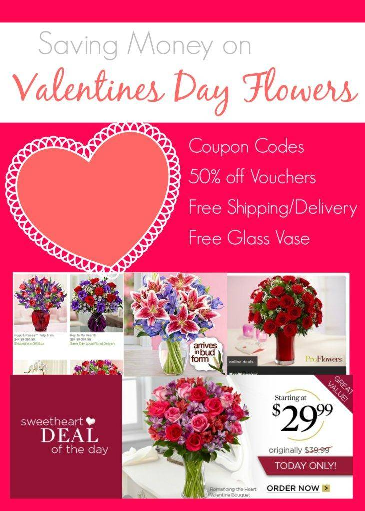 Cheap Valentines Day Flowers 2014 Free Shipping Deals