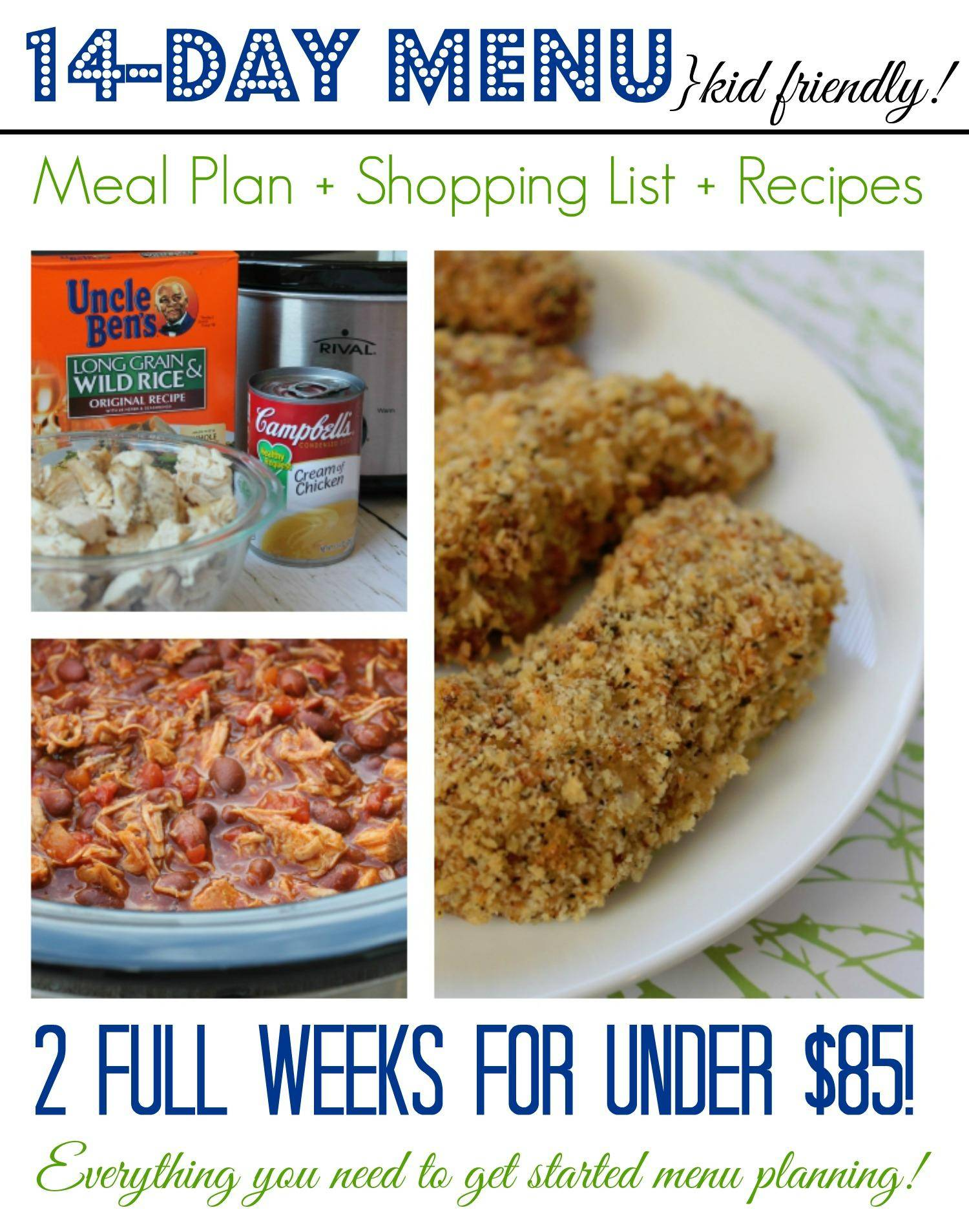2 Week Meal Plan