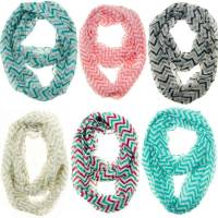 Chevron Infinity Scarves as low as $4.17!