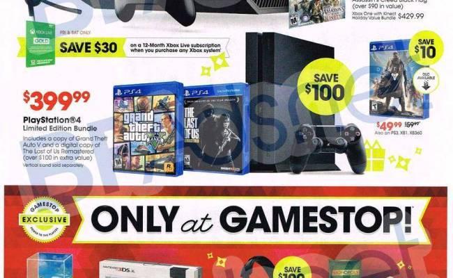 Gamestop Black Friday Ad Scans 2015