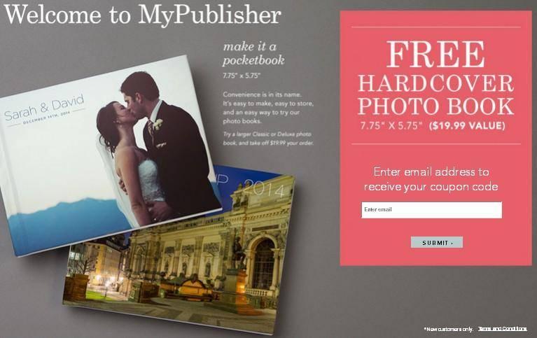 free custom hardcover photo