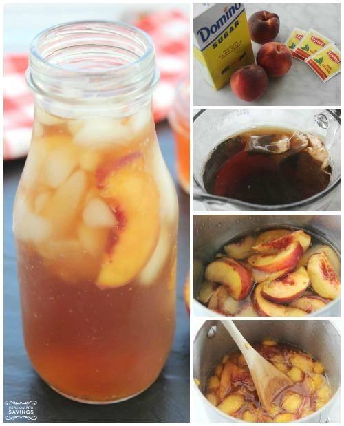 Easy Peach Iced Tea