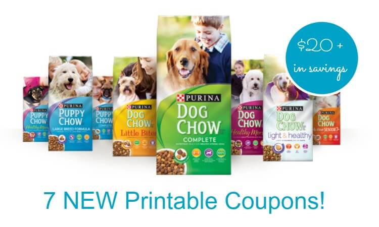 Print Puppy Chow Coupons