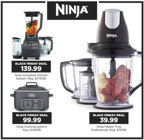 Black Friday Price Ninja Complete Kitchen System 8899
