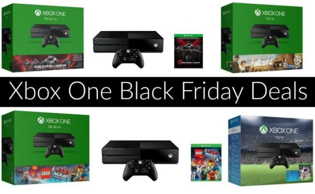 Xbox One Black Friday Deals 2015 Cyber Monday Sales