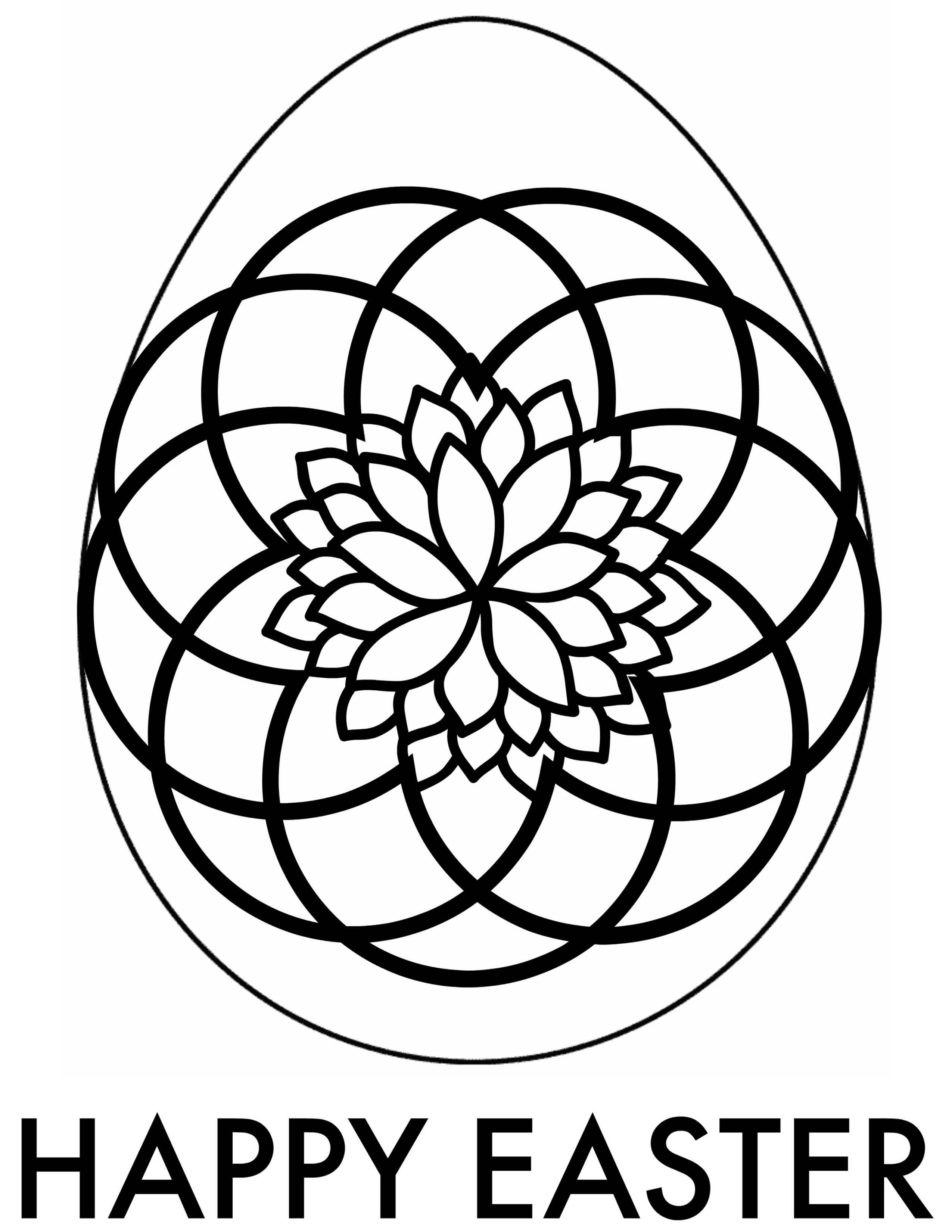 Easter Adult Coloring Pages   Free Printable Downloads   free printable easter egg coloring pages for adults