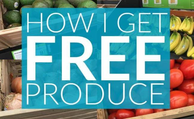 How I Get Free Produce At Walmart Without Using Coupons