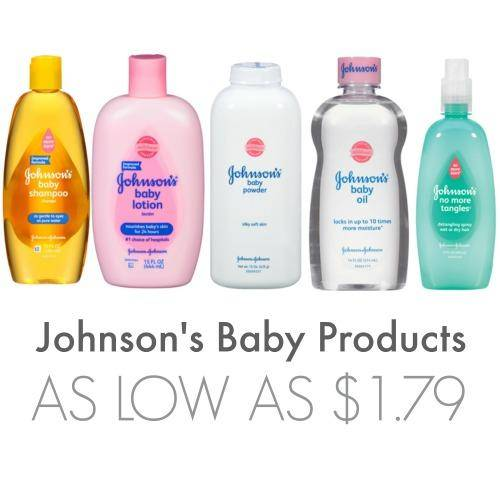 Johnson's Baby Products As Low As $1.79 at Walgreens!