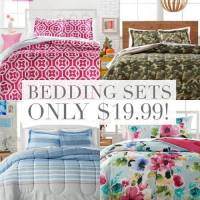 HOT! Macy's 3 Piece Bedding Sets Sale-Just $19.99!