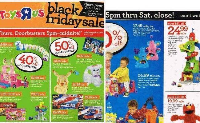 Toys R Us Black Friday Ad 2016 Deals Store Hours Ad Scans