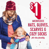 Old Navy Scarves, Hats, Gloves, & More only $1 Today Only!
