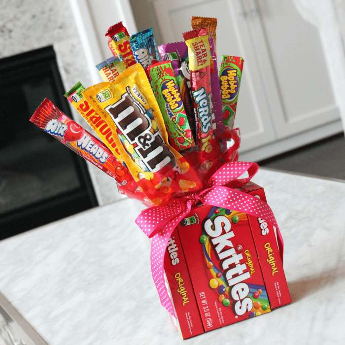 DIY Candy Bouquets For Valentines Day Birthdays Amp More