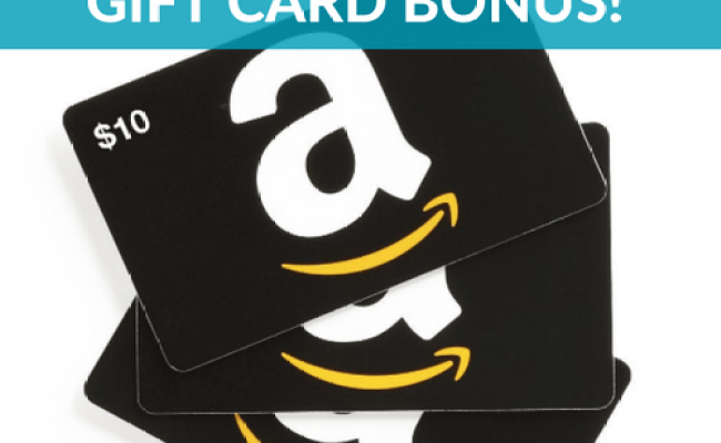 Free 10 Amazon Gift Card Bonus Offer With 100 Gift Card