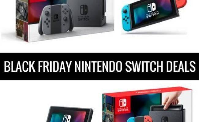 Best Black Friday Nintendo Switch Deals Cyber Monday