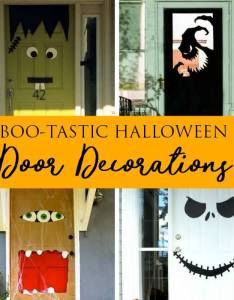 Passion for savings also diy halloween door decorations home or classrooms rh passionforsavings