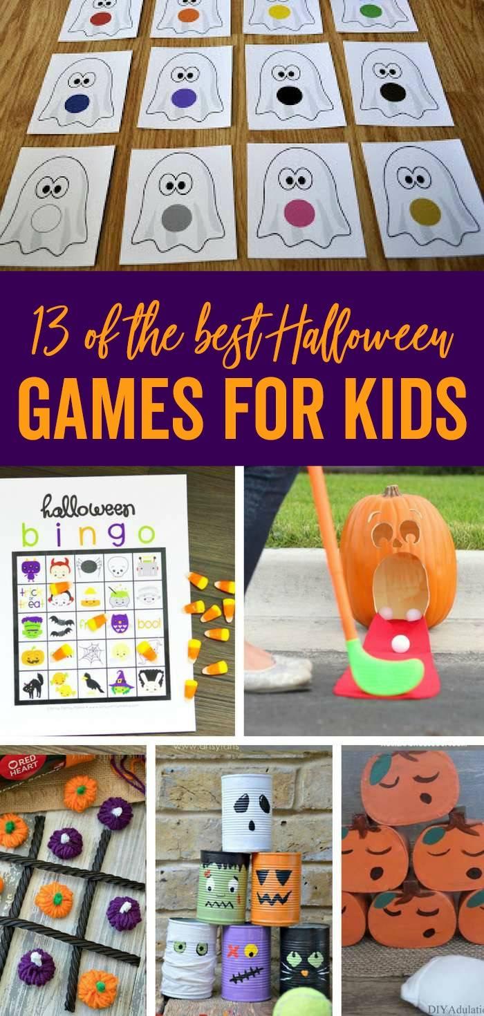 the best halloween games