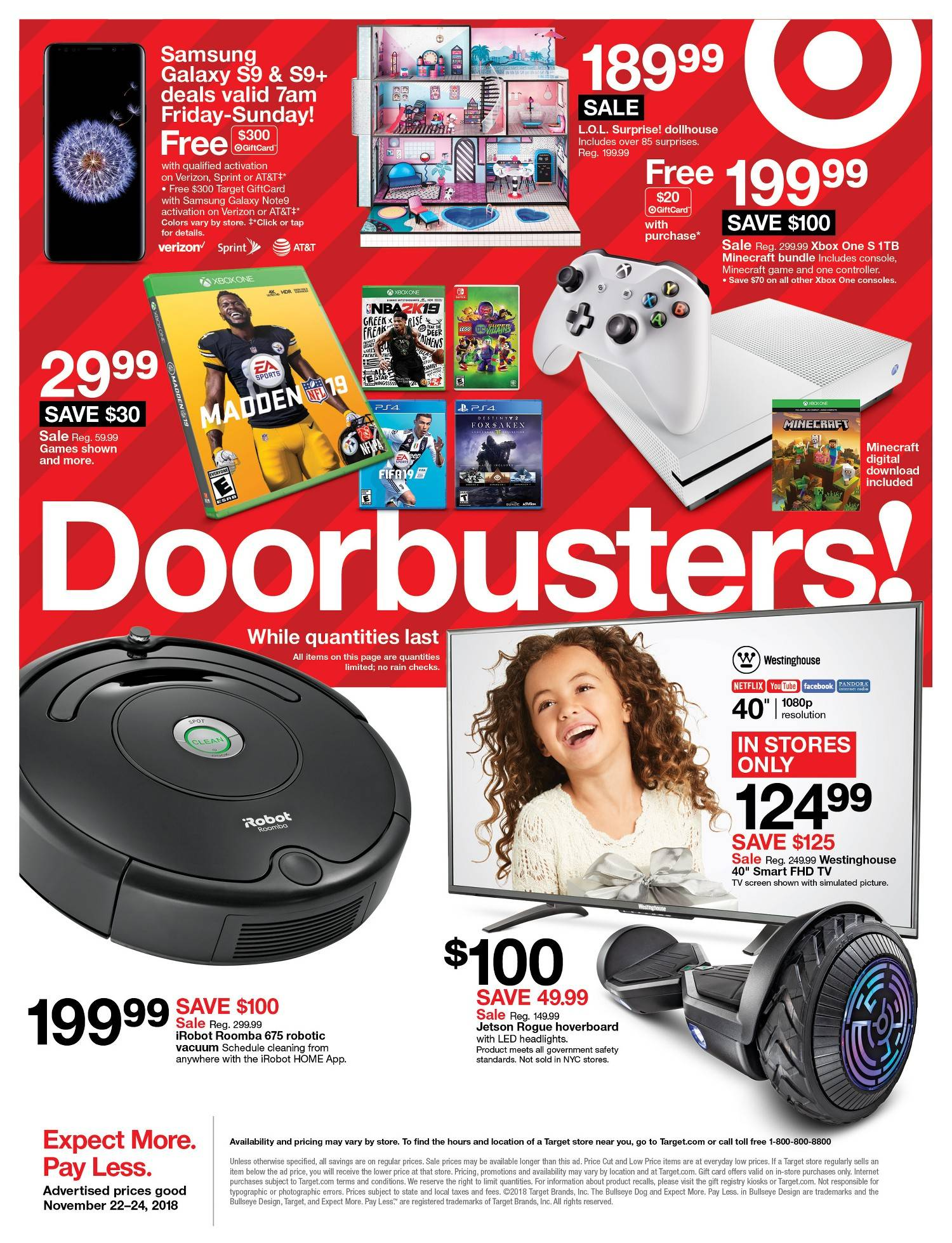 Target Black Friday Ad 2018 See All The Best Deals Get Store Hours