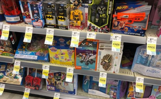 Walgreens Buy 2 Get 1 Free Toys Sale Stock Up Now