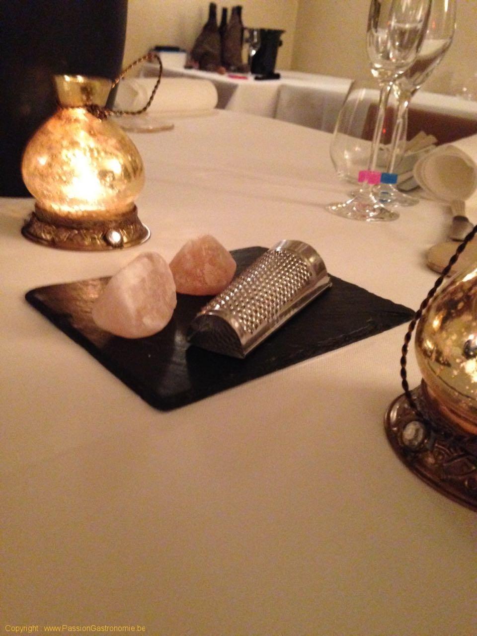 Restaurant La Grappe D'Or à Torgny : sesl de l'Himalaya