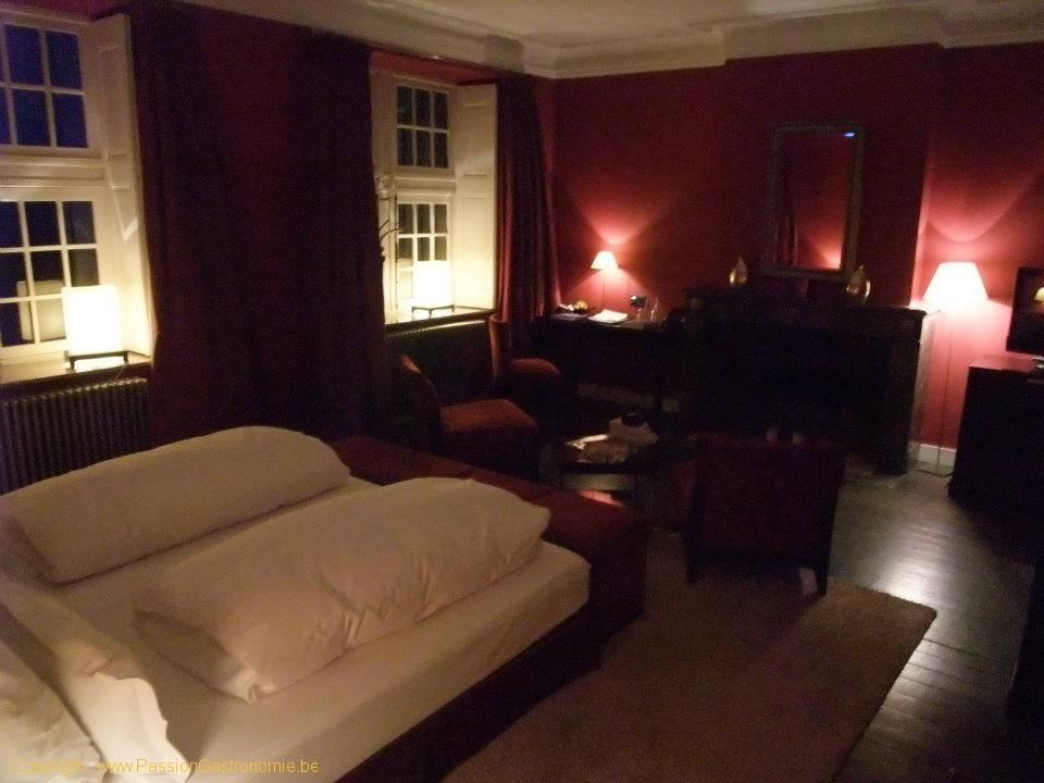 Manoir de Lébioles : chambre