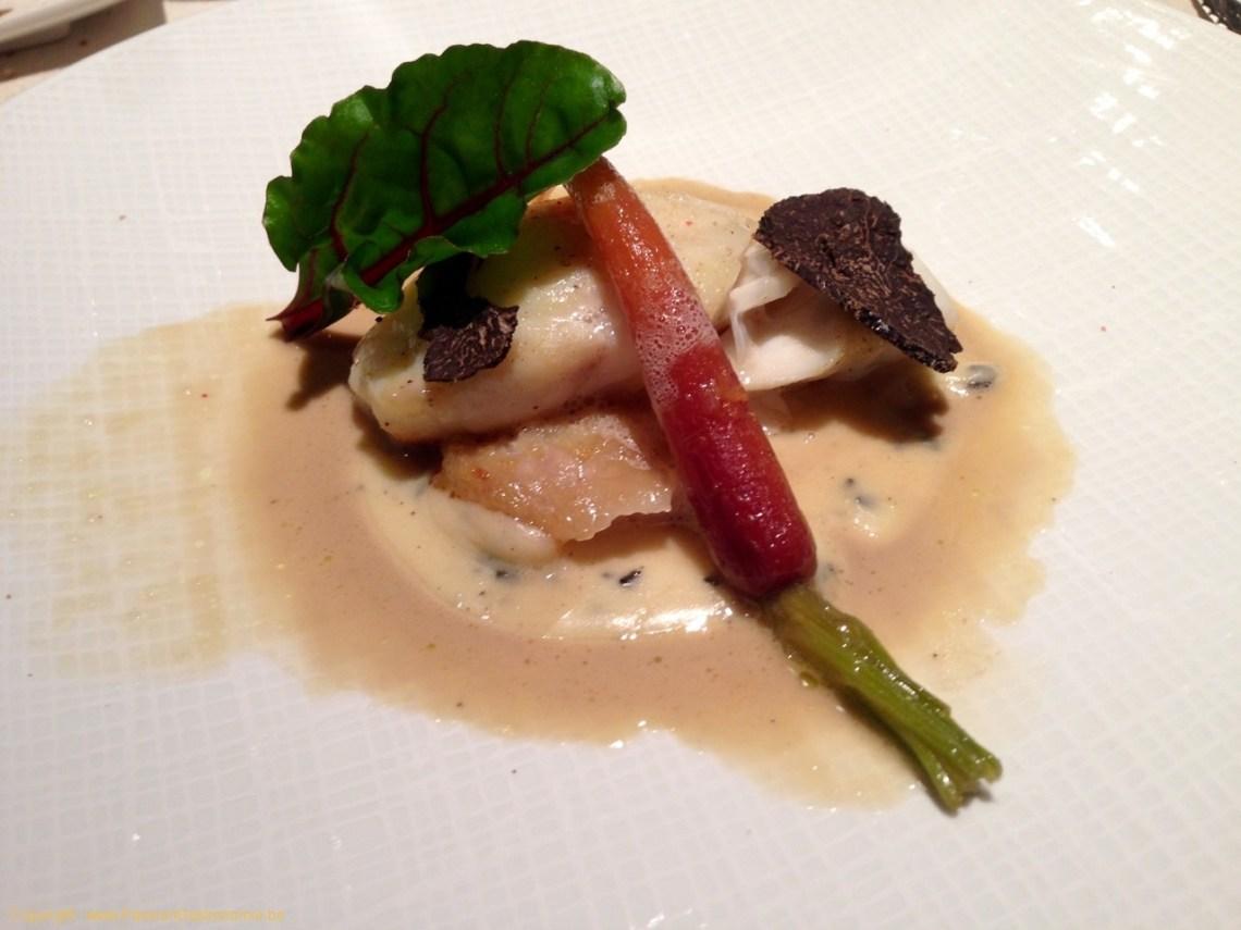 Restaurant Les Trois Petits Bouchons à Mont-sur-Marchienne - Turbot