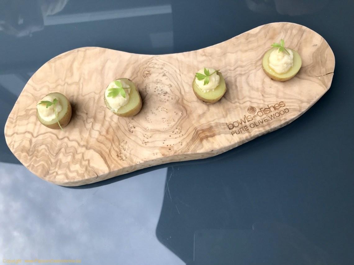 Restaurant Attablez-Vous - Pomme de terre, brandade de truite fumée