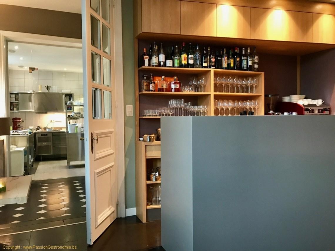 Restaurant Le Carré d'herbes - Le comptoir