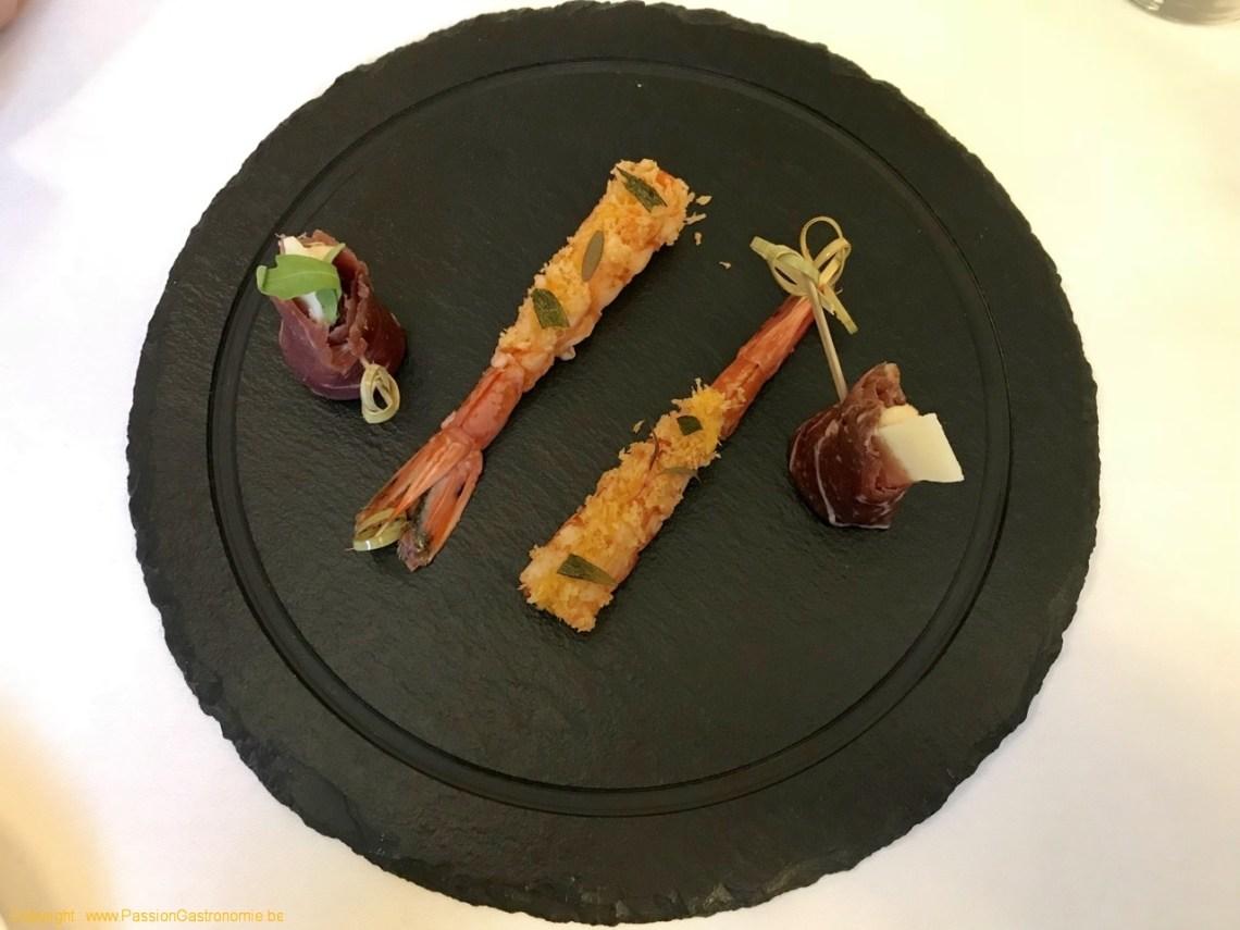 Restaurant L'Ecailler du Palais Royal - Secondes mises en bouche