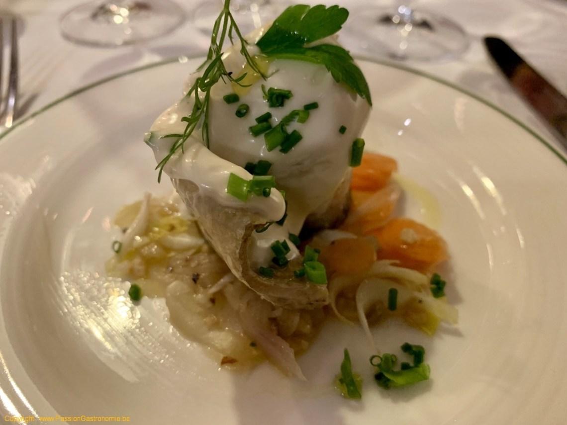 Restaurant Le Fou est Belge - Rollmops et sa marinière de légumes
