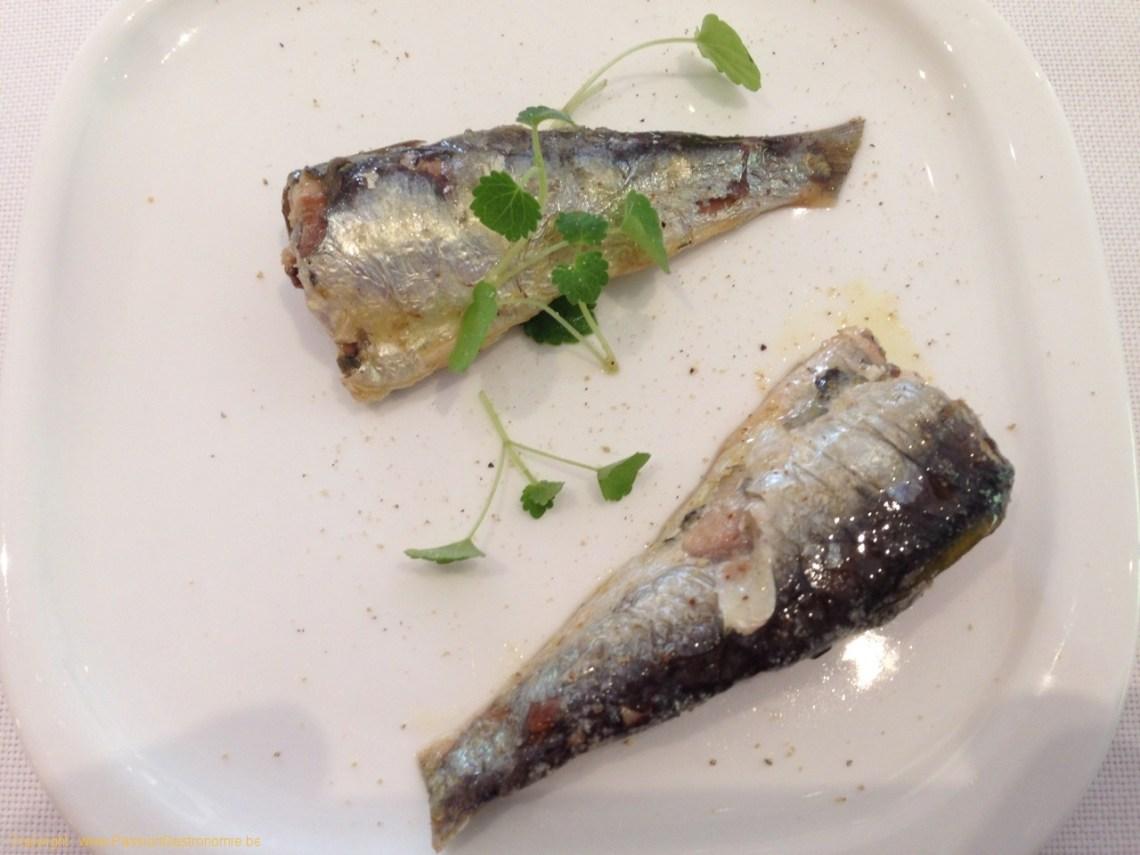 Restaurant Le Gril aux herbes d'Evan - Sardines