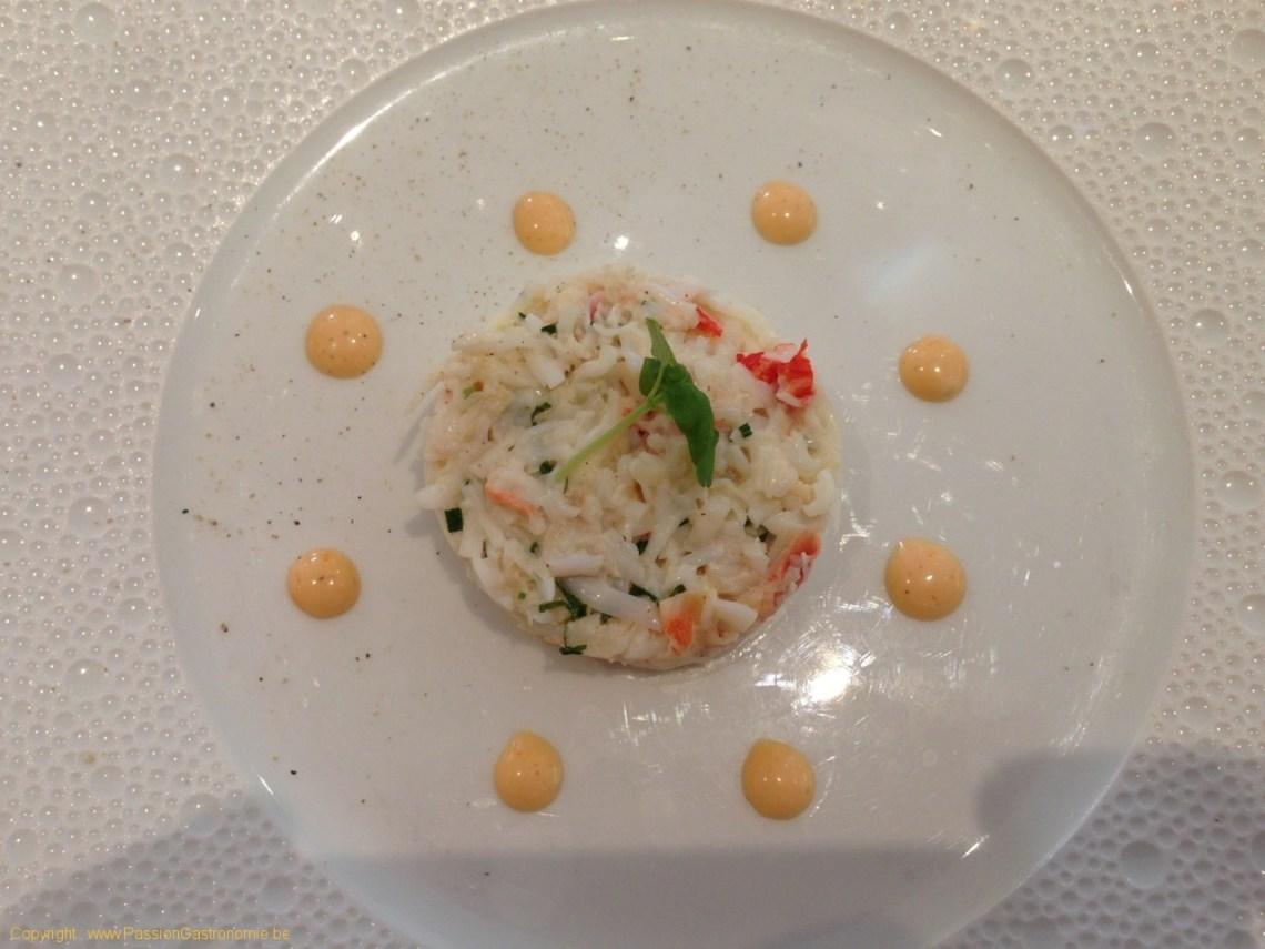 Restaurant Le Gril aux herbes d'Evan - King Crabe