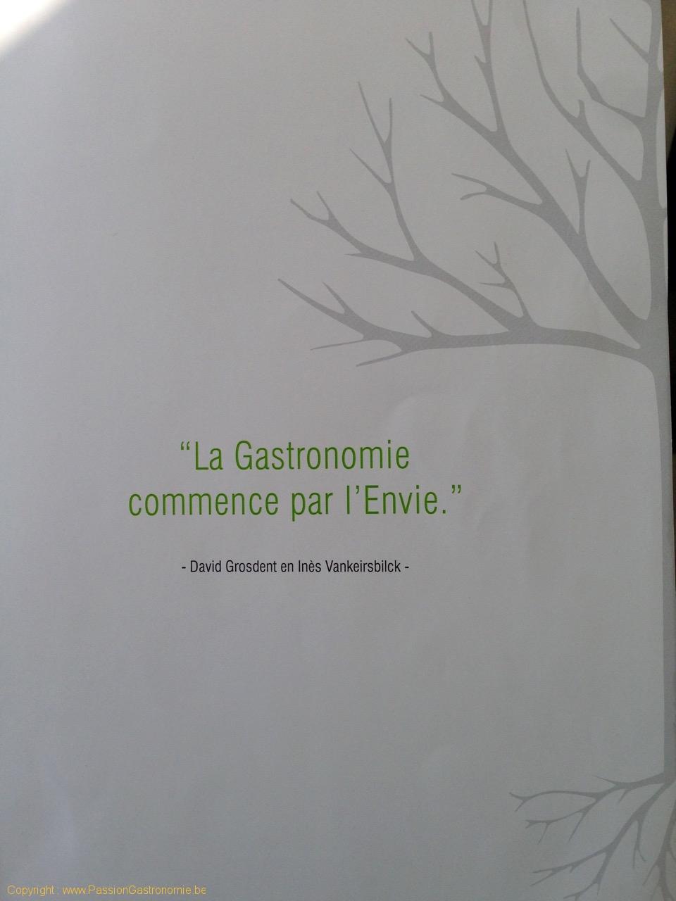 Restaurant L'Envie - Devise