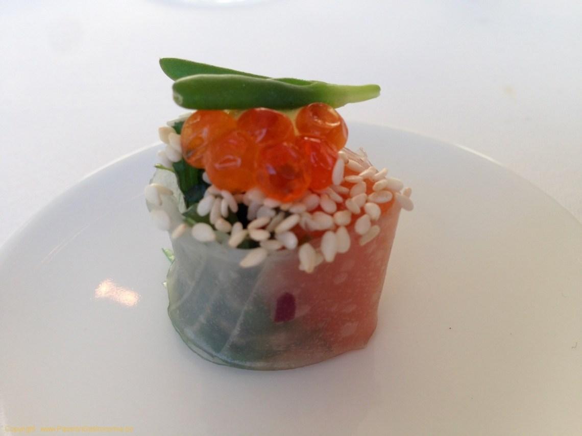 Restaurant L'Envie - Sushi de saumon