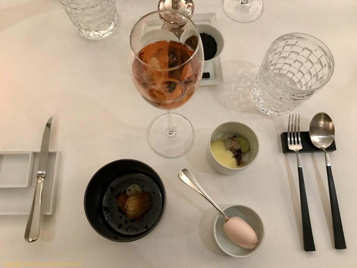 Restaurant Le Prieuré Saint-Géry - Mises en bouche - série 1
