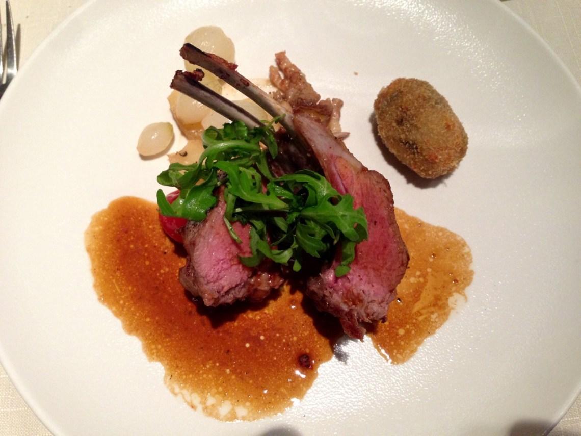 Restaurant Les Trois Petits Bouchons - Côtes d'agneau