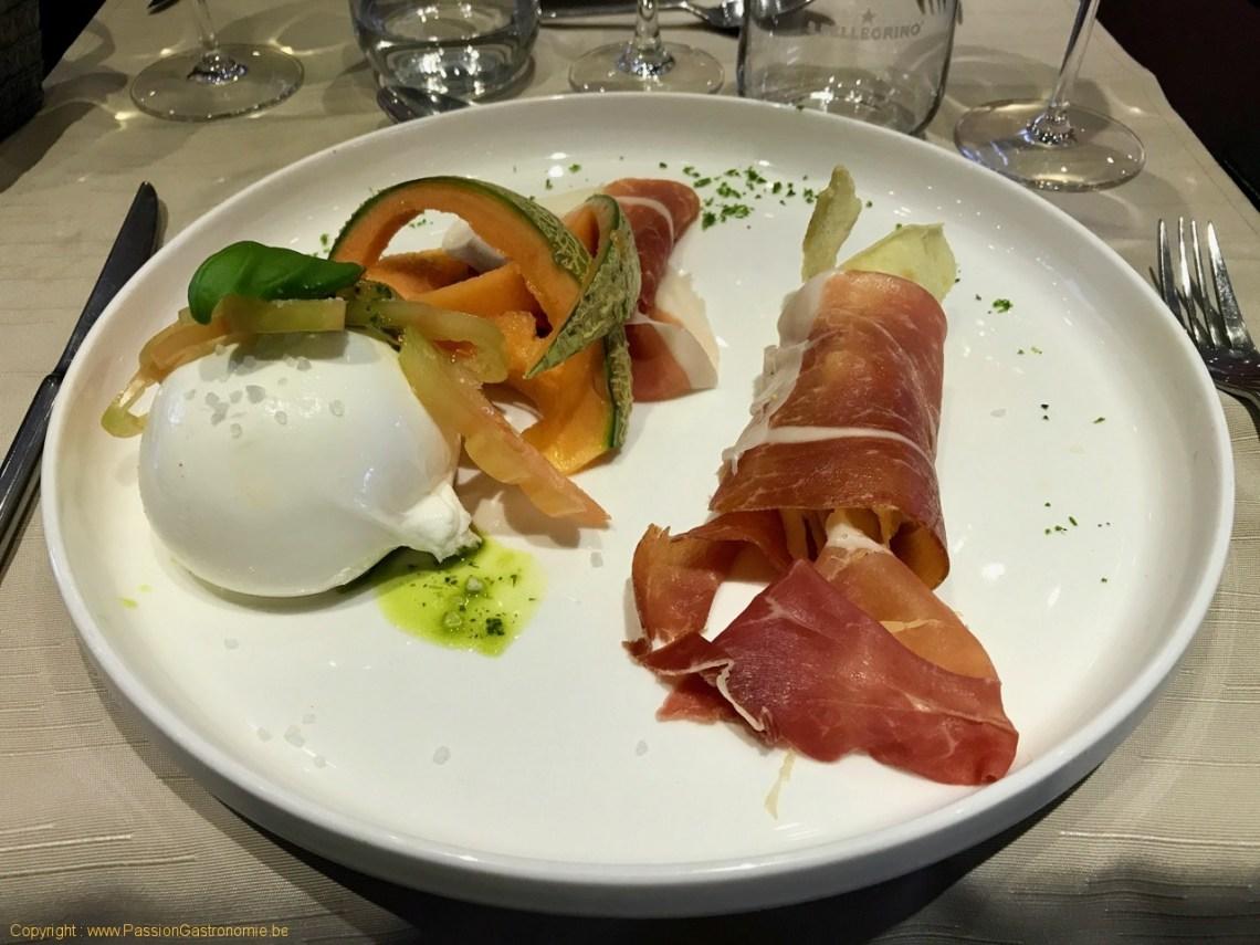 Restaurant Matthias and Sea - San Daniele et burrata de buffalo