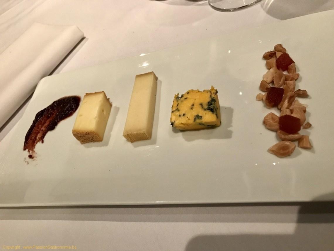 Restaurant Philippe Nuyens - Petite assiette de fromages