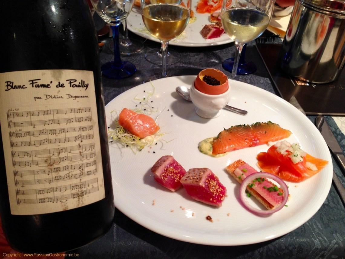 Restaurant Les Embruns - Saumons et thon
